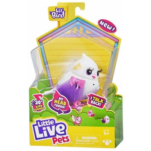 Купить Little Live Pets Птичка интерактивная Твитти-Рина 26029, Роботы и трансформеры