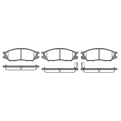 Комплект тормозных колодок Roadhouse 21123.02 для Nissan Almera II, Almera Classic, Sentra V
