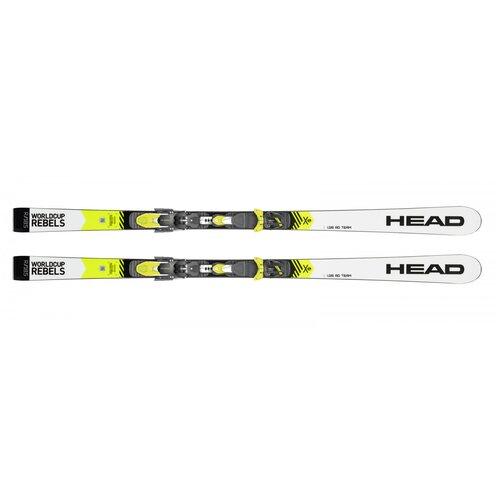 Горные лыжи детские с креплениями HEAD WorldCup Rebels i.GS RD Team (19/20), 124 см