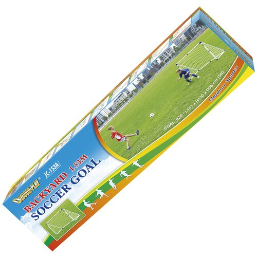 Фото - Ворота DFC GOAL153A, размер 153х130 см белый ворота dfc goal180st размер 180х90 см белый