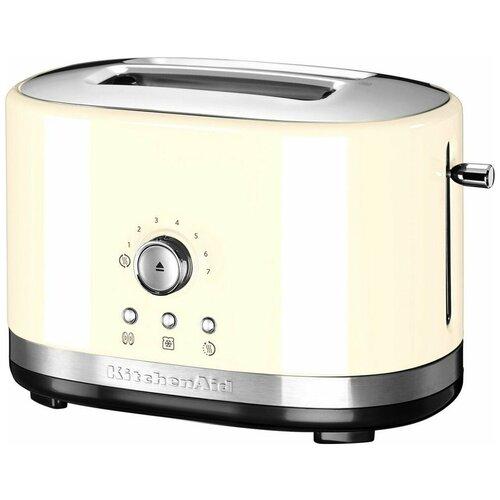 Фото - Тостер KitchenAid 5KMT2116EAC, кремовый тостер kitchenaid 5kmt2204efp морозный жемчуг