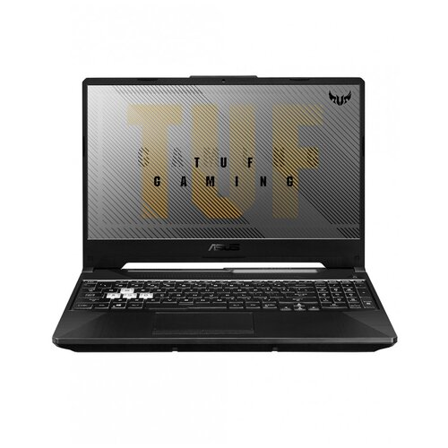 Ноутбук ASUS TUF Gaming F15 FX506LH-HN197 (Intel Core i5 10300H/15.6/1920x1080/16GB/512 GB SSD/NVIDIA GeForce GTX 1650 4GB/Без ОС) 90NR03U1-M05380, серый ноутбук asus rog fx553vd e41241 intel core i5 7300hq 4gb 1000gb hdd nvidia geforce gtx 1050 15 6 1920x1080 нет endless черный