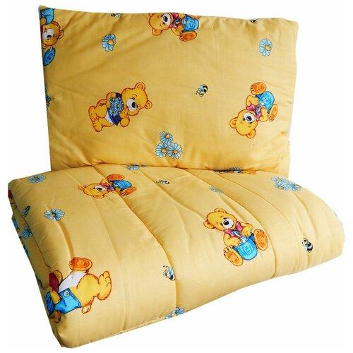 Купить Набор Папитто (цвет: бежевый, одеяло + подушка), Покрывала, подушки, одеяла