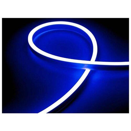 Светодиодная лента URM 2835-120led IP65 220V 10W 425Lm Blue