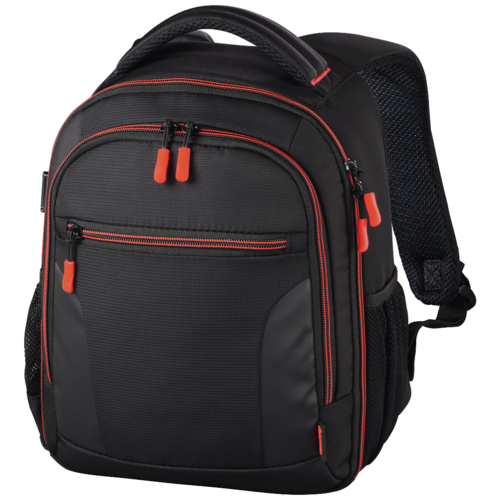 Фото - Рюкзак для фотокамеры HAMA Miami Camera Backpack 150 black/red thule enroute backpack 20l black tecb120blk