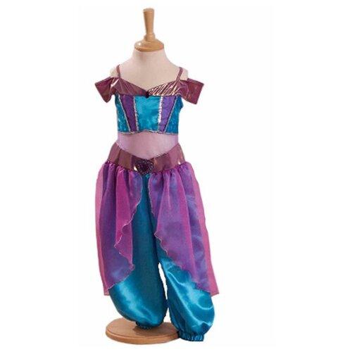 Костюм travis designs Арабская принцесса, фиолетовый/голубой, размер 6-8 лет недорого