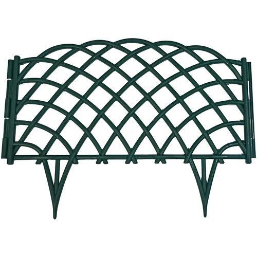 Дачная мозаика Забор декоративный