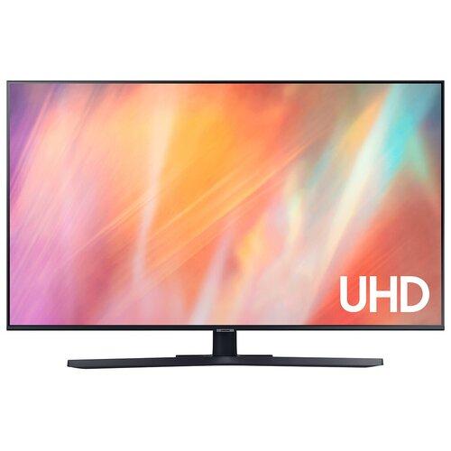 Фото - Телевизор Samsung UE58AU7570U 58 (2021), titan gray телевизор samsung ue43au7570u 43 titan gray