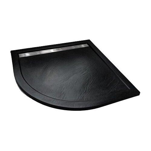 Душевой поддон WELTWASSER TRR STONE 100 x 100 черный слив notebook stone by stone a6 100 100