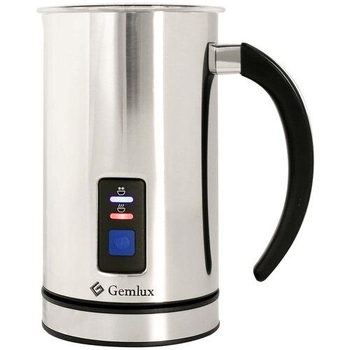 Вспениватель для молока Gemlux GL-MF-08, серебристый