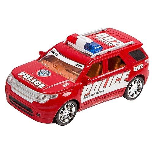 Инерционная машинка YAKO Police Police, На земле, В небе, На море, арт. M9534 (В95592)