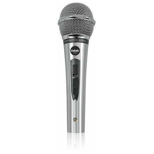 Микрофон BBK CM131, серебро