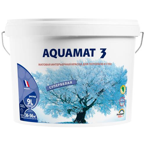 Краска акриловая Pragmatic Aquamat 3 5100BR91 матовая 191 9 л 14 кг