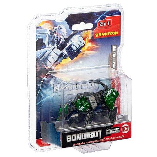 Трансформер BONDIBON 2в1 BONDIBOT BONDIBON робот-волк, метал. детали, арт.E2001-01. (ВВ5002)