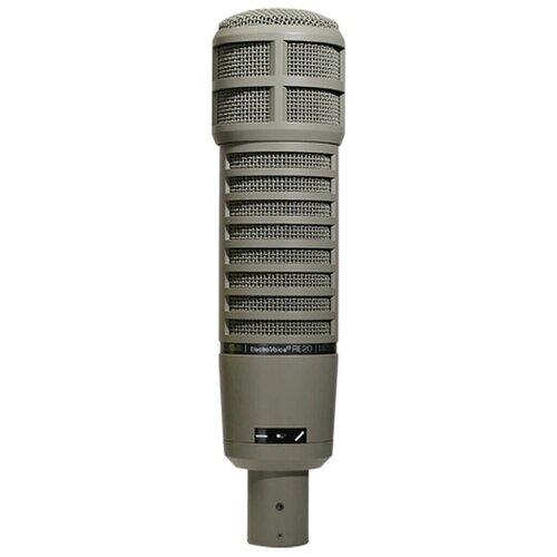 Микрофон Electro-Voice RE20, серый