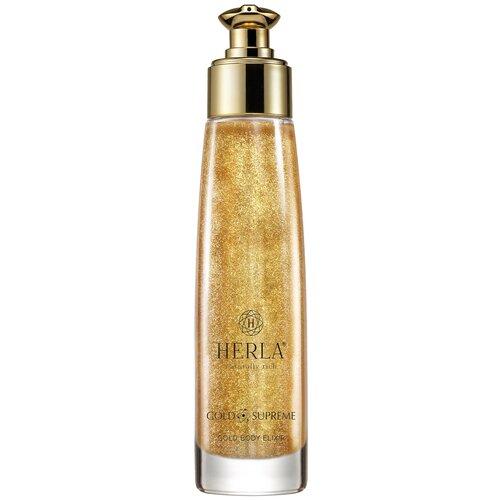 Купить Эликсир для тела HERLA Gold Supreme Gold Body Elixir, 100 мл