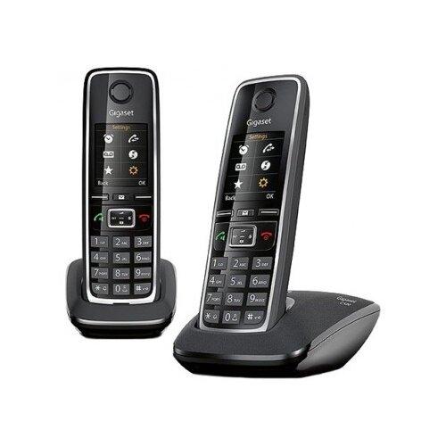 Фото - Радиотелефон Gigaset C530 DUO Black радиотелефон alcatel e192 duo ru black