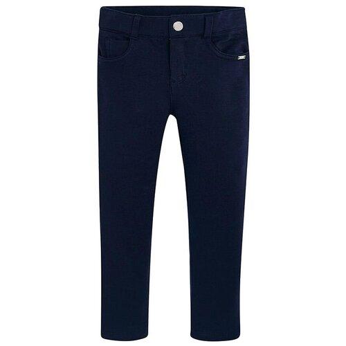 Брюки Mayoral 00555 размер 6(116), 075 темно-синий брюки mayoral 04551 размер 9 134 015 темно синий