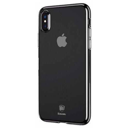 Фото - Чехол-накладка Baseus Simple Series Case для Apple iPhone X transparent чехол накладка baseus thin case для apple iphone x black