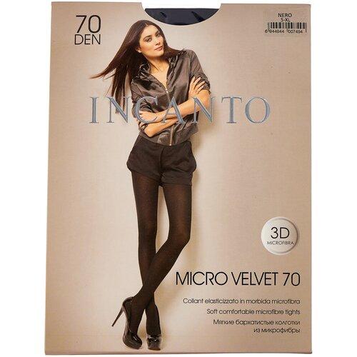 Колготки Incanto Micro Velvet, 70 den, размер 5-XL, nero (черный)