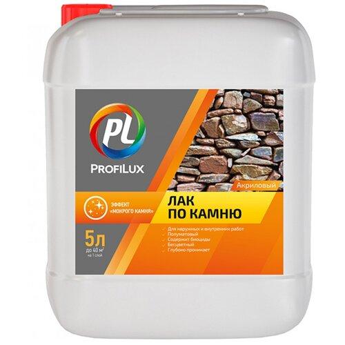 Лак Profilux по камню с эффектом