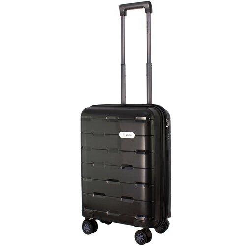Фото - Чемодан PROFFI Tour Fashion S 36 л, черный чемодан proffi travel tour fashion 24 pp пластиковый средний 64 5х47х27 желтый