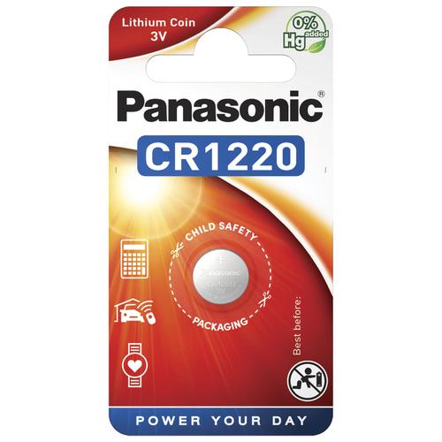 Литиевые дисковые батарейки Panasonic CR-1220EL-1B