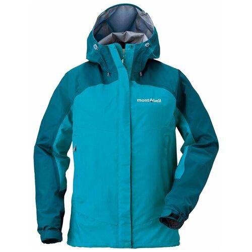 Куртка мембранная MontBell Thunder Pass Jacket W's (XS, Голубой, PE/TQ)