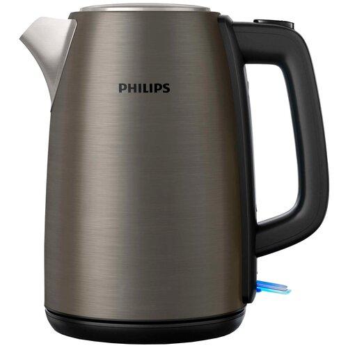 Чайник Philips HD9352 Daily Collection, титан чайник philips hd9352 80