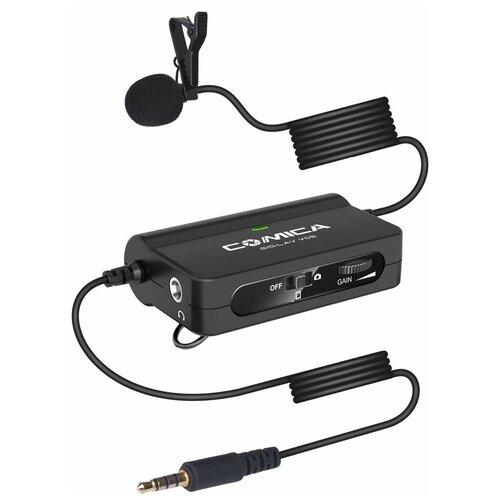 Микрофон Comica CVM-SIG.LAV V05 miniJack 3.5, черный
