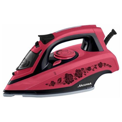 Утюг Аксинья КС-3001 розовый недорого
