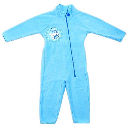 Купить Комбинезон Babyglory, размер 80, голубой, Комбинезоны