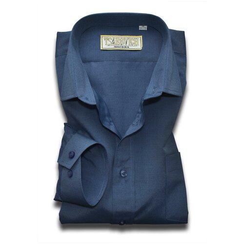 Рубашка Tsarevich размер 30/122-128, синий