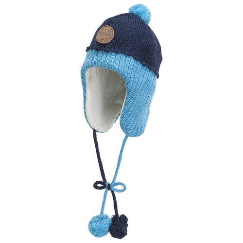 шапка для мальчика acoola estrel цвет темно голубой 20136400052 600 размер s 52 Шапка Huppa размер S, 986 темно-синий/голубой