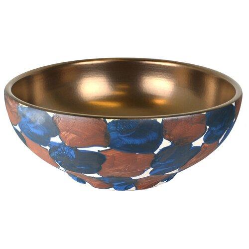 Раковина-чаша Bronze de Luxe бронзовая с декором (147B) раковина bronze de luxe 1616