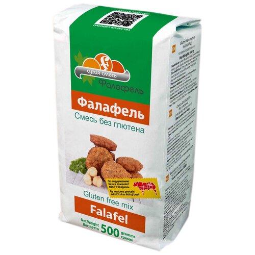 Garnec Смесь для приготовления Фалафель без глютена, 0.5 кг