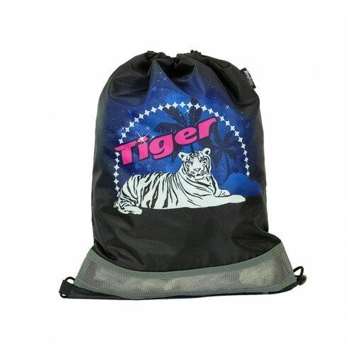 MagTaller Мешок для обуви Tiger (31216-23) черный недорого