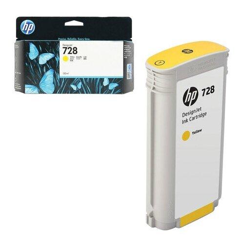 Фото - Струйный картридж Hewlett-Packard F9K15A (HP 728) Yellow designjet 728 yellow 300 мл f9k15a