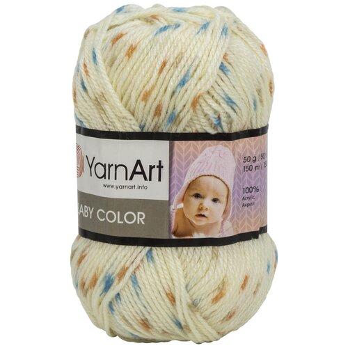 Фото - Пряжа YarnArt 'Baby color' 50гр 150м (100% акрил) (268 принт) 5 шт пряжа yarnart baby 50гр 150м 100% акрил 1182 коричневый 5 мотков