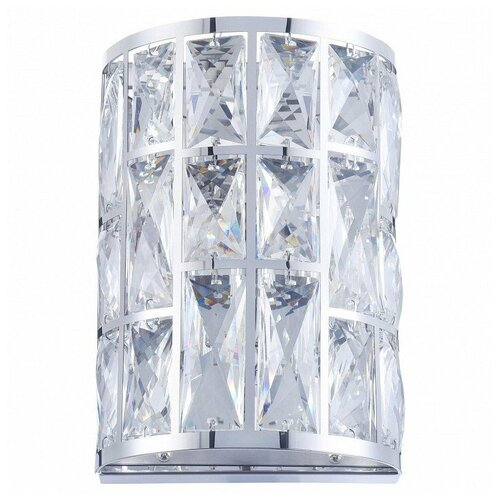 Накладной светильник Maytoni Gelid MOD184-WL-01-CH настенный светильник maytoni gelid mod184 wl 01 ch