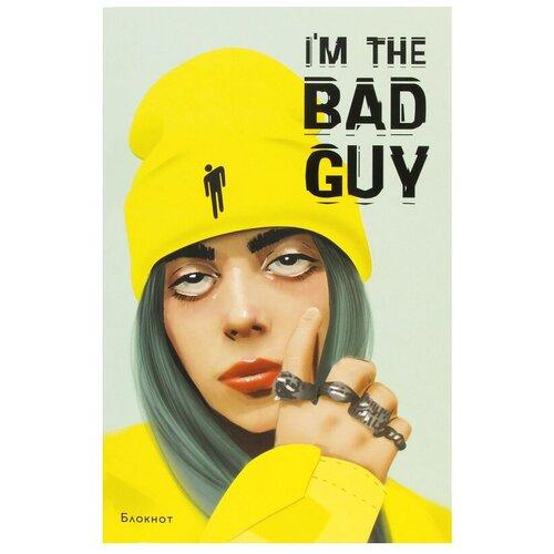 Купить ЭКСМО Блокнот Billie Eilish Э А5 ( 160 x 243 мм) 96 ллинейка I`m the bad guy 2 шт., Блокноты и записные книжки