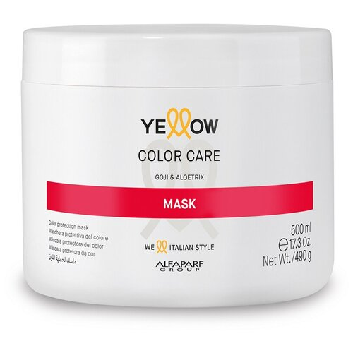 Маска для окрашенных волос YE COLOR CARE MASK, 500 мл YELLOW MR-17109