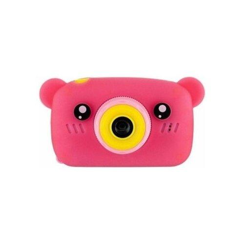 Фото - Детский цифровой фотоаппарат Мишка Розовый / Kids Camera детский цифровой фотоаппарат собачка розовый kids camera pink