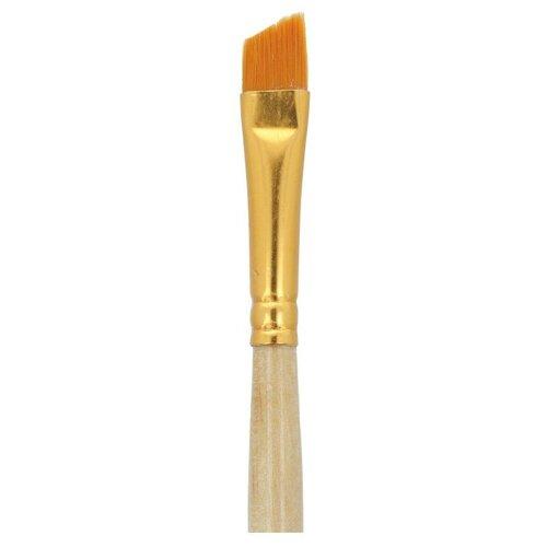 Купить Набор кистей Mr.Painter синтетика, плоские, со скосом, 5 шт, короткая ручка, №10 (SBA 206-10), Mr. Painter, Кисти