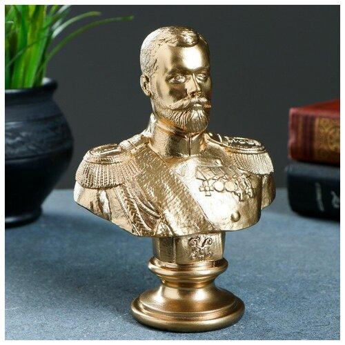 Бюст Николай II бронза 15см 1079130