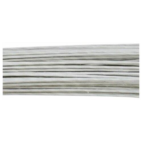 Проволока для флористики диам.1,20мм, 60 см, 50шт. Astra&Craft (белый)