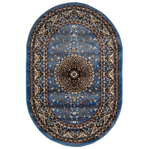 Ковер цвет голубой 100 x 150 арт. УКВ-0621
