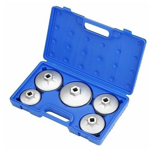 Мастак Набор съемников масляных фильтров, 5 предметов