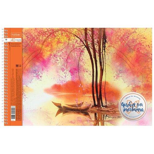 Альбом для рисования 40л А4 спираль Watercolor перф.на отрыв, в асс. 067333 4 шт. недорого