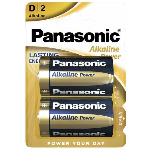 Фото - Элемент питания PANASONIC LR20 Alkaline Power BL2 элемент питания navigator 94 750 nbt ne lr03 bp2
